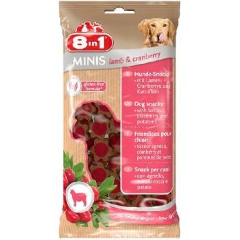 8in1 Минис Ягненок и клюква, с картофелем, 100гр. 8in1 Minis Lamb&Cranberry 100g