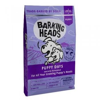 """Barking Heads / Баркинг Хедс Беззерновой для щенков с лососем и курицей """"Щенячьи деньки"""" (Puppy Days 6kg), 6 кг"""