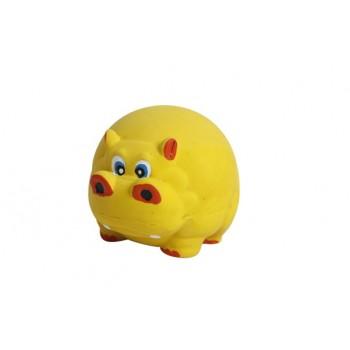 "Ziver / Зивер Игрушка ""Бегемот"" 8 см., желтый"