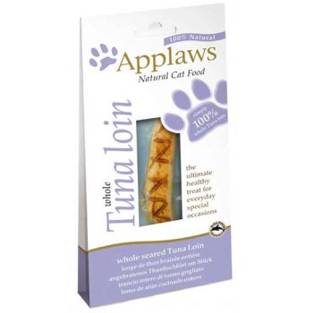 "Applaws / Эпплаус Лакомство для кошек ""Филе тунца"", вакуумная упаковка 0,03 кг"
