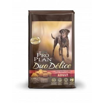"Pro Plan / Про План ""Duo Delice"" сухой для собак Лосось с Рисом 10 кг"