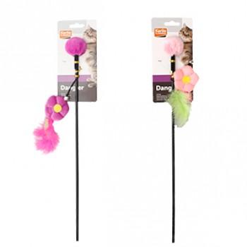 Karlie-Flamingo / Карли Фламинго Игрушка д/кошек дразнилка с цветком 4*9*53 см