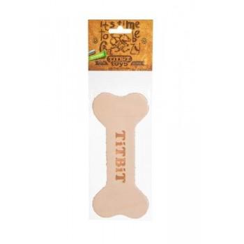 TitBit / ТитБит Игрушка Косточка 18 см из кожи