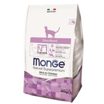 Monge / Монж Cat Sterilized корм для стерилизованных кошек 400г