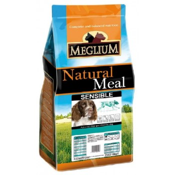 MEGLIUM / МЕГЛИУМ Sensible Корм сух.3кг для взрослых собак с чувствительным пищеварением MS1903