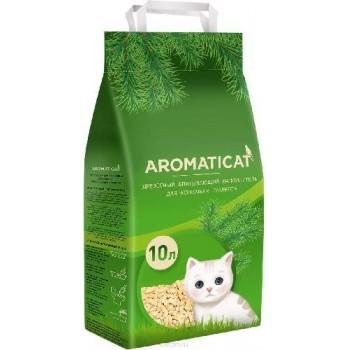 """AromatiCat / АроматиКэт Древесный впитывающий наполнитель """"AromatiCat"""" 10л. /6 кг"""