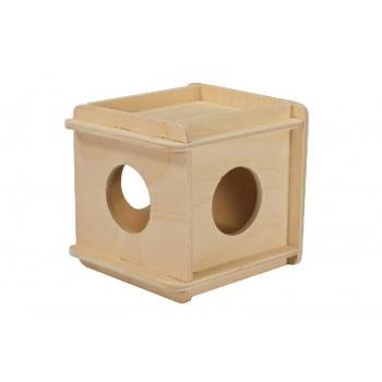 Darell / Дарэлл Игрушка для грызунов кубик малый деревянный 8521