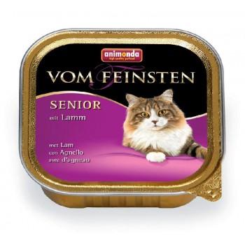 Animonda Vom Feinsten Senior конс. 100 гр. с ягненком для стареющих кошек (ламистер) 83859