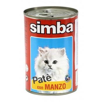 Simba / Симба Cat консервы для кошек паштет говядина 400 г