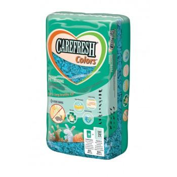 CareFresh Наполнитель-подстилка голубой, бумажный для птиц и мелких животных (Colors) (10 л)