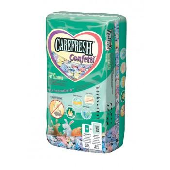 CareFresh Наполнитель-подстилка разноцветный, бумажный для птиц и мелких животных (Colors Confetti) (10 л)