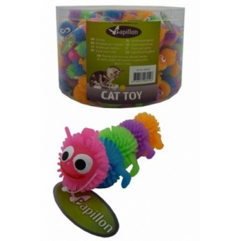 """Papillon / Папиллон Игрушка для кошек """"Гусеница"""", латекс, 6,5см"""