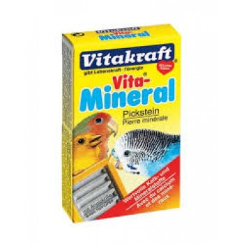 Vitakraft / Витакрафт Vita-Mimeral PICKSTEIN Камень минеральный для волн. попугаев 35г