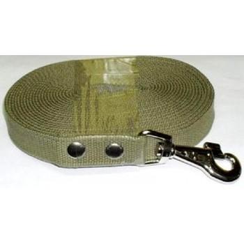 Usond Поводок брезент 10 м х 25 мм (имп. карабин) ПБ-006 530915