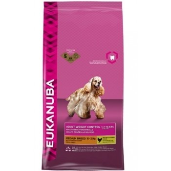 EUKANUBA / Еукануба Dog корм для взрослых собак средних пород с низкой активностью 15 кг