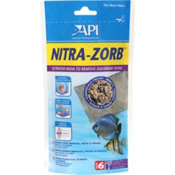 API / АПИ Нитра Зорб - Средство для удаления аммиака, нитритов, нитратов из аквариумной воды Nitra-Zorb, 210 g