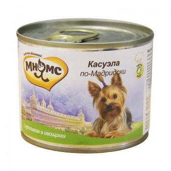Мнямс консервы для собак Касуэла по-Мадридски (кролик с овощами) 200 г