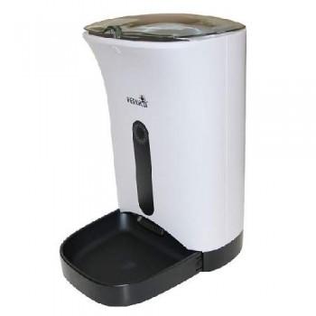 Автокормушка Petwant 4,3 л для сухого корма белая