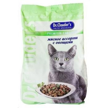 Dr.Clauder's / Др.Клаудер'c Корм сух.д/кошек Мясное ассорти/овощи 400гр