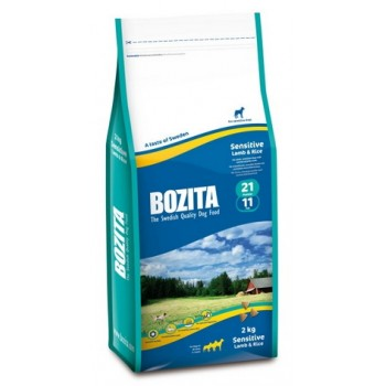 Bozita / Бозита Sensitive 21/11 сух.корм д/взрослых собак Ягненок/рис 2кг