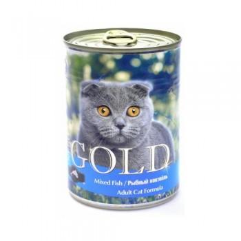 """Nero Gold / Неро Голд для кошек """"Рыбный коктейль"""" 0,41 кг"""