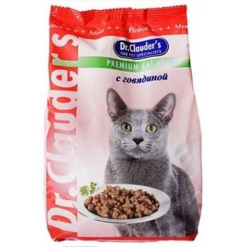 Dr.Clauder's / Др.Клаудер'c Корм д/кошек Говядина 15кг