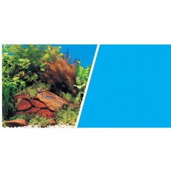 Hagen / Хаген фон Растения на камнях/Голубой 45 см 7,5 м