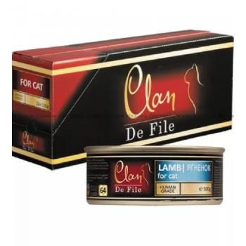 Clan / Клан De File консервы для кошек Ягненок, 0,1 кг