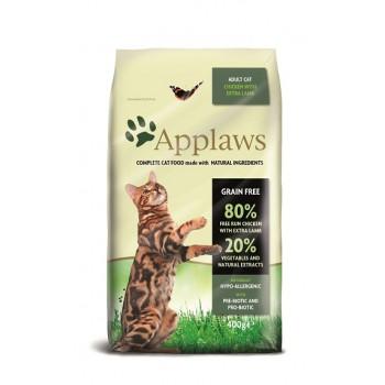 "Applaws / Эпплаус для кошек ""Курица и ягненок 80/20%"" 0,4 кг"