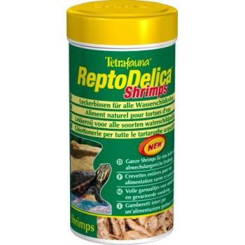 Tetra / Тетра ReptoMin Delica Shrimps корм с креветками для водных черепах 250 мл