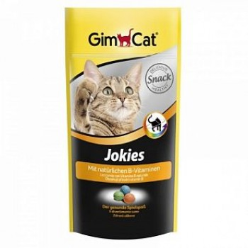 "Gimcat / ГимКэт Лакомство витаминиз.""JOKIES"" (компл. вит. В), д/кошек, 40г"