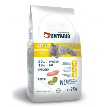 Ontario / Онтарио для домашних кошек с цыпленком 2 кг