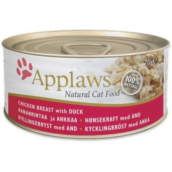 Applaws / Эпплаус Консервы для Кошек с Курицей и Уткой 2025CE-A Chicken with Duck 156 гр