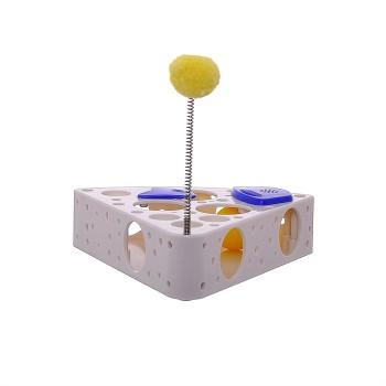 "EduPet Обучающая игрушка для кошек ""Сыр"" 6 в 1 (Cat Toy Cheese 6 in 1) 05030"