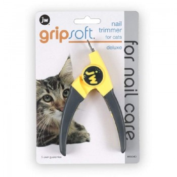JW Когтерез-гильотина для кошек Grip Soft Deluxe Nail Trimmer (65040)