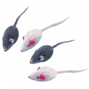 Nobby / Нобби Игрушка набор для кошек Мышка короткошерстная 5см 4шт. 72202