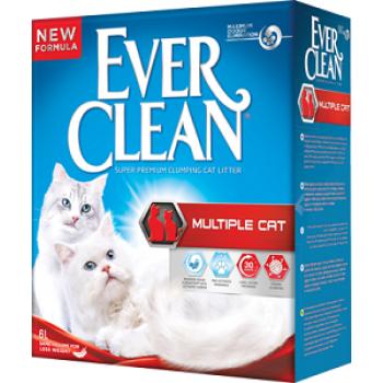 Ever Clean Multiple Cat Наполнитель для нескольких кошек 6кг
