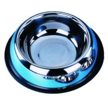 Nobby / Нобби Миска металл резиновое основание 0,70л 17см (1х6) 72902