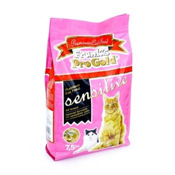 """Frank's ProGold / Франкс ПроГолд для чувствительных кошек """"Ягненок по-голландски"""" (Sensitive 32/18) 7,5 кг"""