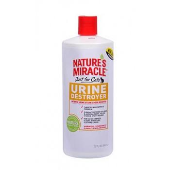 8in1 уничтожитель пятен, запахов и осадка от мочи кошек NM JFC Urine Destroyer 945 мл