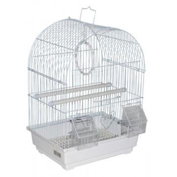 Kredo А100 Клетка д/птиц цветная 30*23*39см овальная, комплект