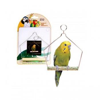 Penn-Plax / Пен-Плакс Игрушка для птиц Качели для птиц 10см цемент (1х12) BA221