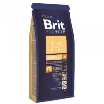 Brit / Брит Premium Adult M для взрослых собак средних пород, 18 кг