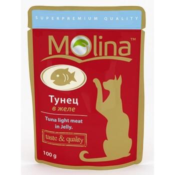 Molina / Молина пауч д/кошек Тунец в желе, 100г