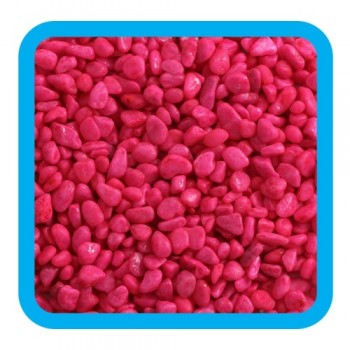 Laguna / Лагуна 20604D Грунт натуральный цветной розовый, 5-8мм