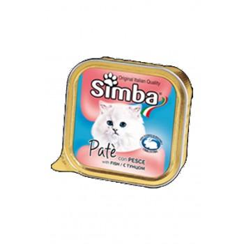 Simba / Симба Cat консервы для кошек паштет рыба 100 г