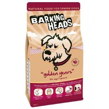 """Barking Heads / Баркинг Хедс Для Собак старше 7 лет с курицей и рисом """"Золотые годы"""", 2 кг"""