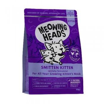 "Barking Heads / Баркинг Хедс Для Котят с Курицей и рисом ""Восторженный котенок"" (Smitten Kitten 450g), 450 гр"