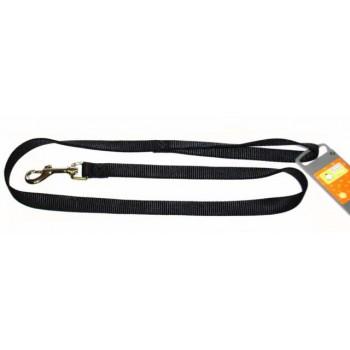 Hunter / Хантер Smart поводок для собак Ecco 20/100 нейлон черный