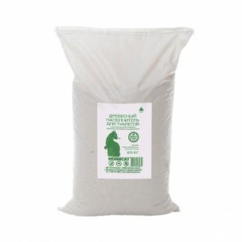 HOMECAT / Хоум Кэт Древесный Наполнитель мелкие гранулы 20 кг мешок